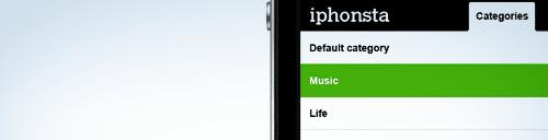 """Découvrez le thème iPhone """"iPhonsta"""" !"""